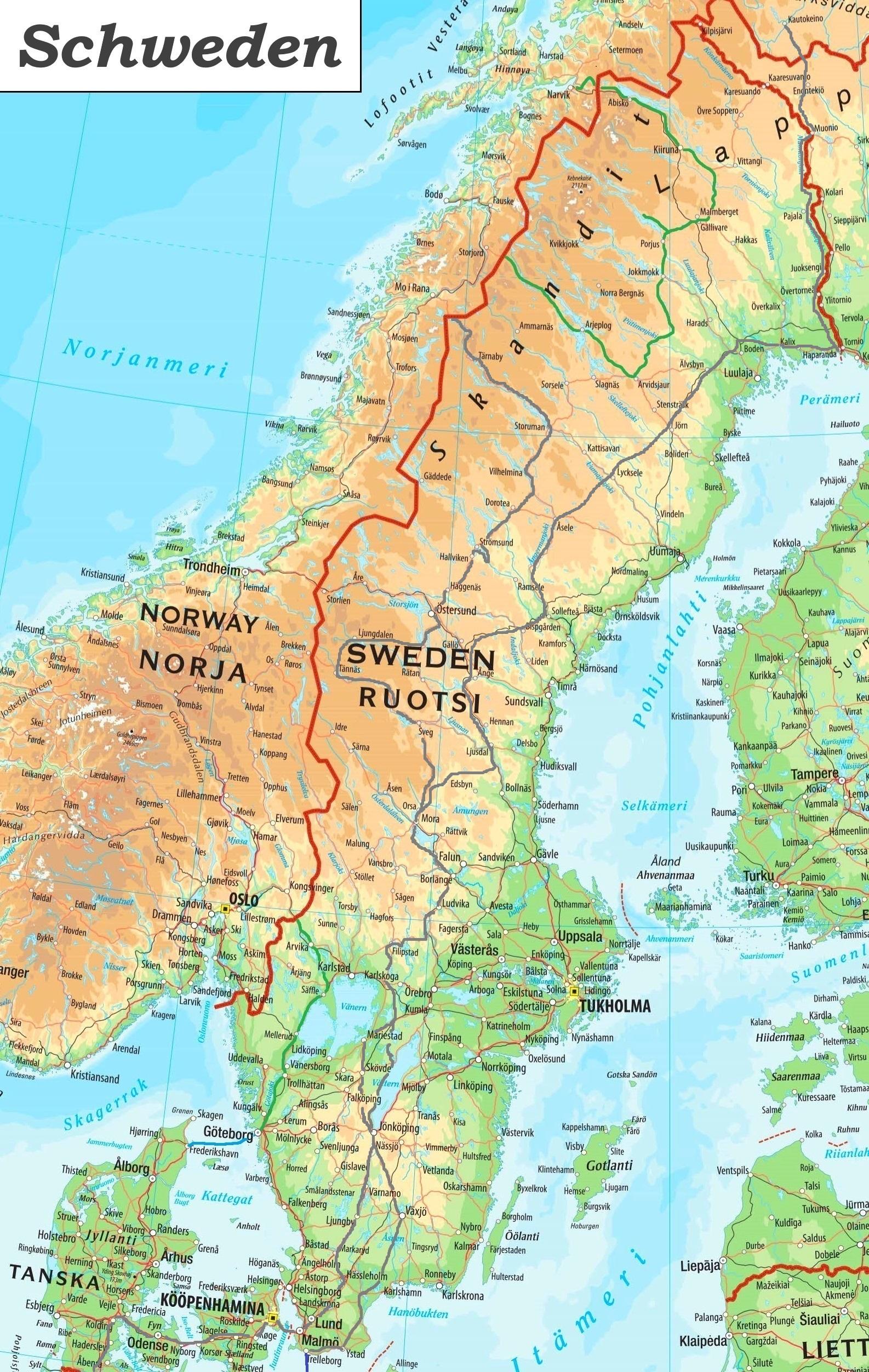 einreise schweden